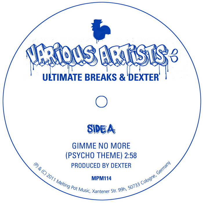 Ultimate Breaks & Dexter (7''/Digi) cover art