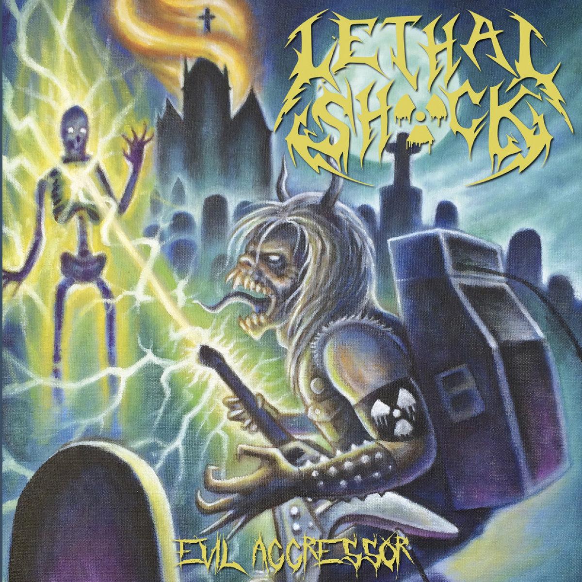 Lethal Shock - Evil Aggressor | Heavy Metal | 2016 | MP3 320