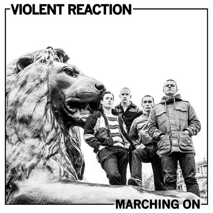 Marching On LP (2015) cover art