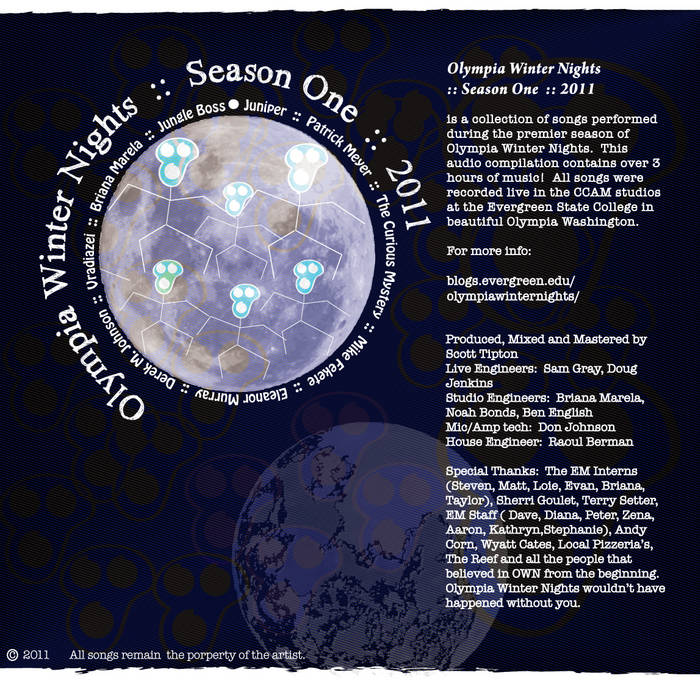 Olympia Winter Nights :: Season One :: 2011 cover art