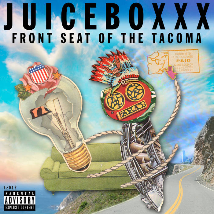 FRONT SEAT OF THE TACOMA (TZ012) cover art