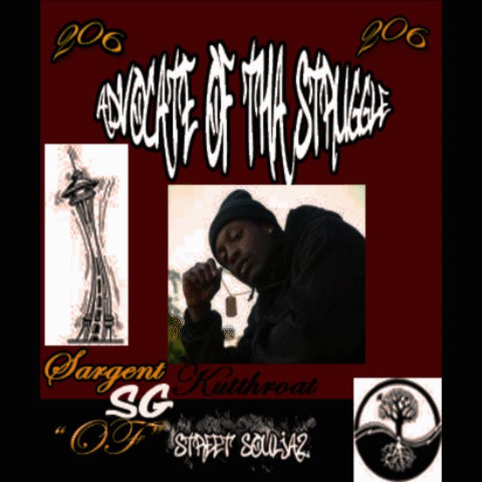 ADVOCATE OF THA STRUGGLE cover art