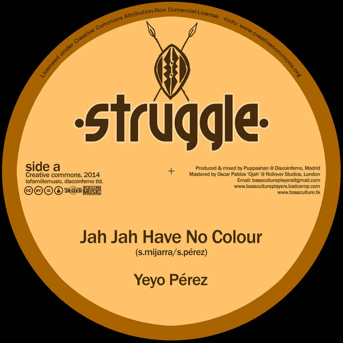 Jah Jah Have No Colour + Dub cover art