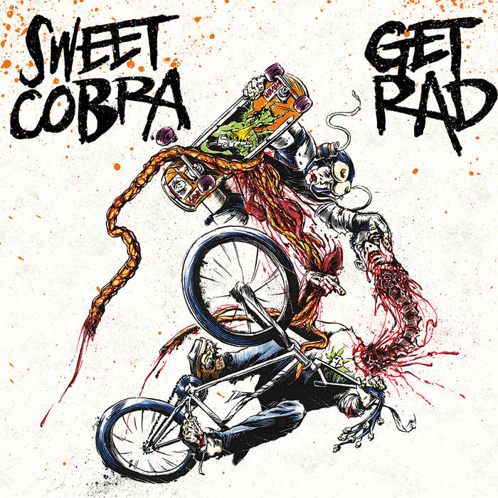 "Sweet Cobra split 7"" cover art"