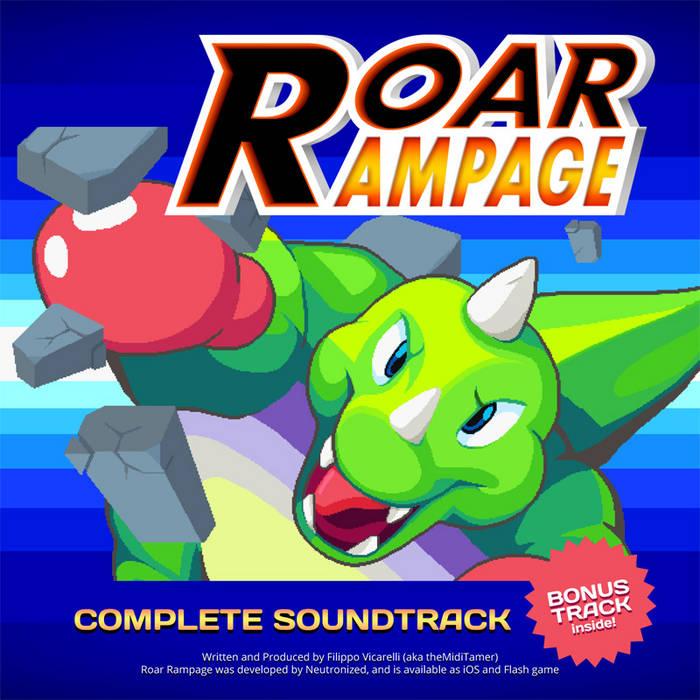 Roar Rampage OST cover art