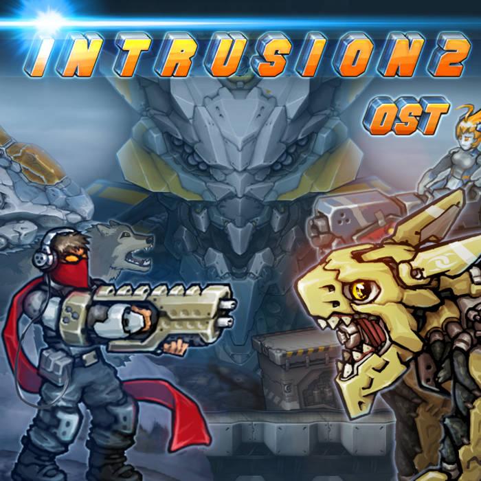 """Moved to ----""""georgedziov.itch.io/intrusion2-ost""""---- Intrusion 2 Original Soundtrack cover art"""