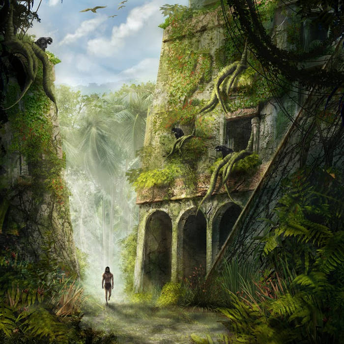 Make A Jungle Noise Here cover art