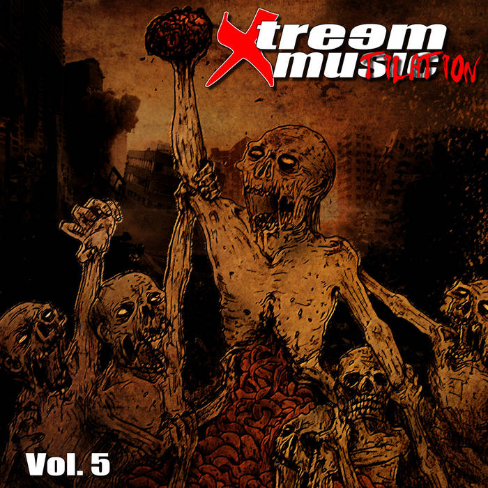XTREEM MUTILATION - Vol​.​5 (CD1) cover art