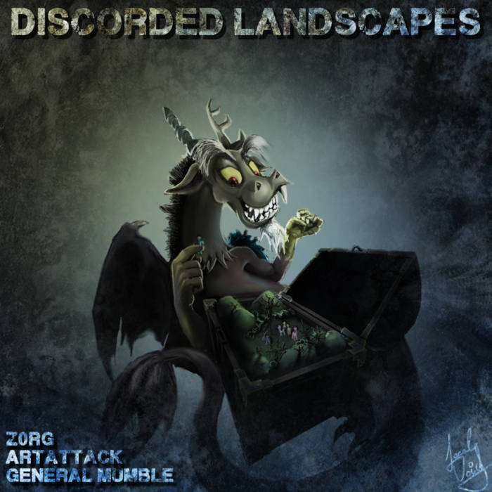 Discorded Landscapes cover art
