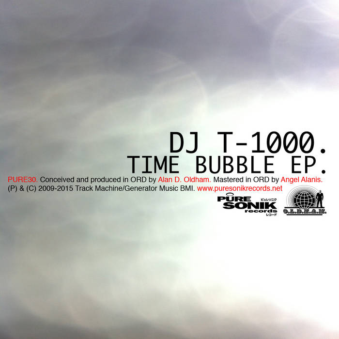 Time Bubble EP cover art
