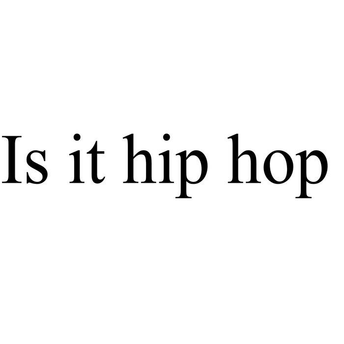 is it hip hop cover art