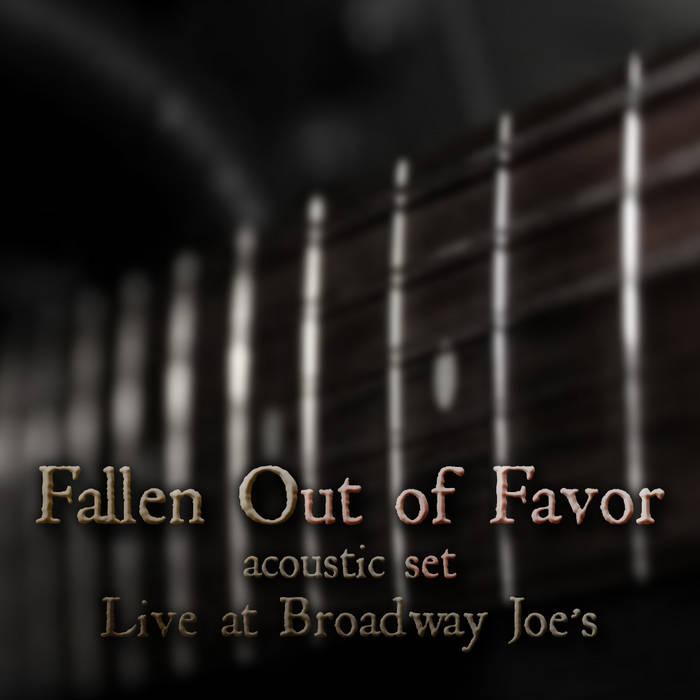 Acoustic Set, Live at Broadway Joe's cover art