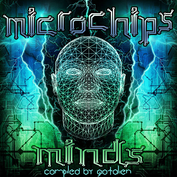 Microchips Minds - V.A. (Hellchedelic Records) cover art