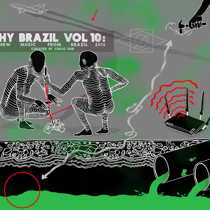 Hy Brazil Vol 10: New Music From Brazil 2016 cover art