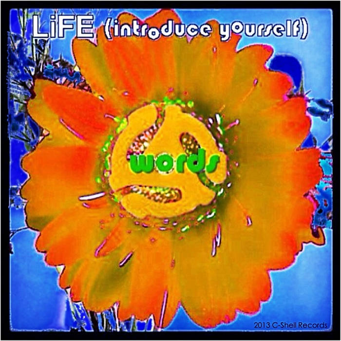 """LiFE (introduce yourself)"" cover art"