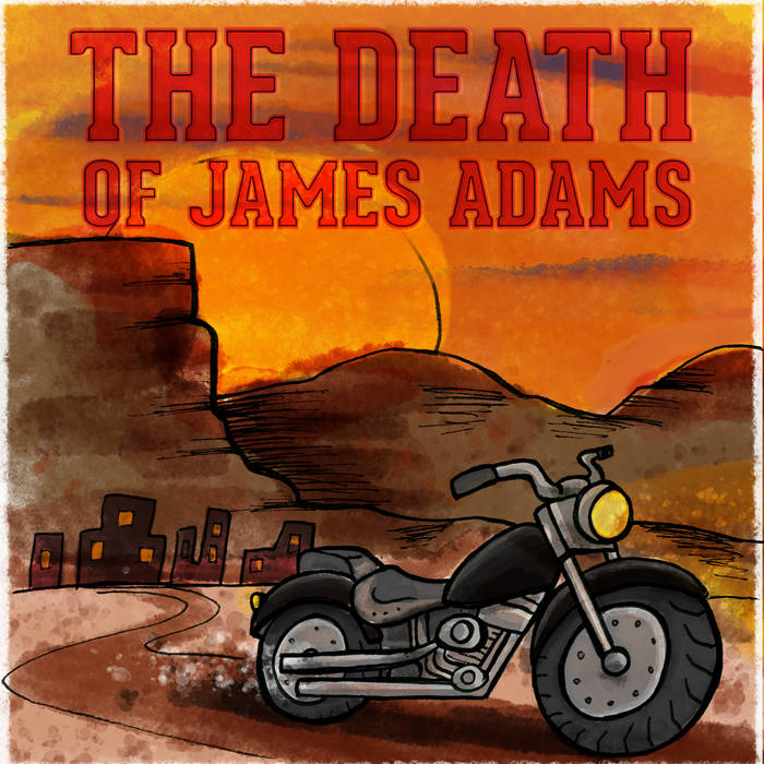 The Death of James Adams - Single cover art
