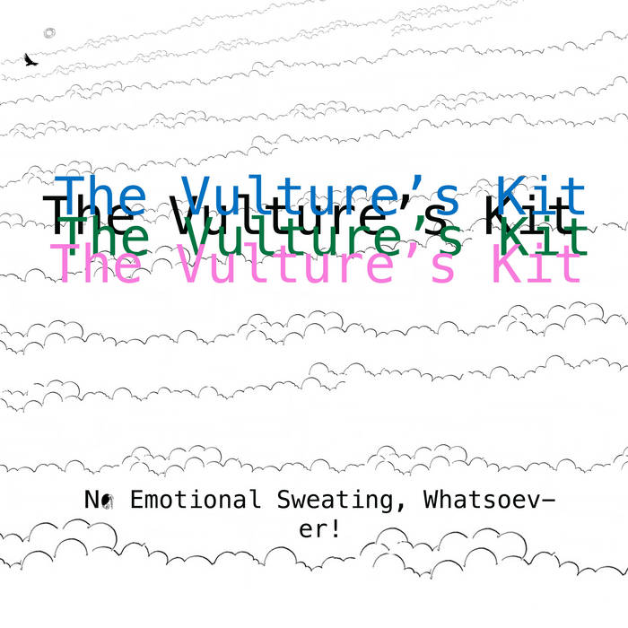 No Emotional Sweating, Whatsoever! cover art