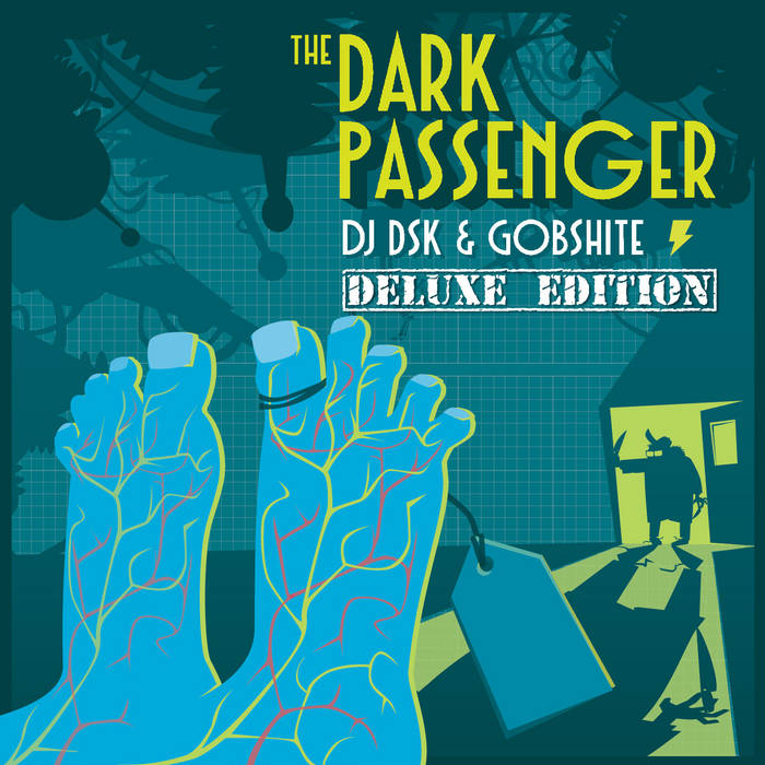 The Dark Passenger (deluxe edition) cover art