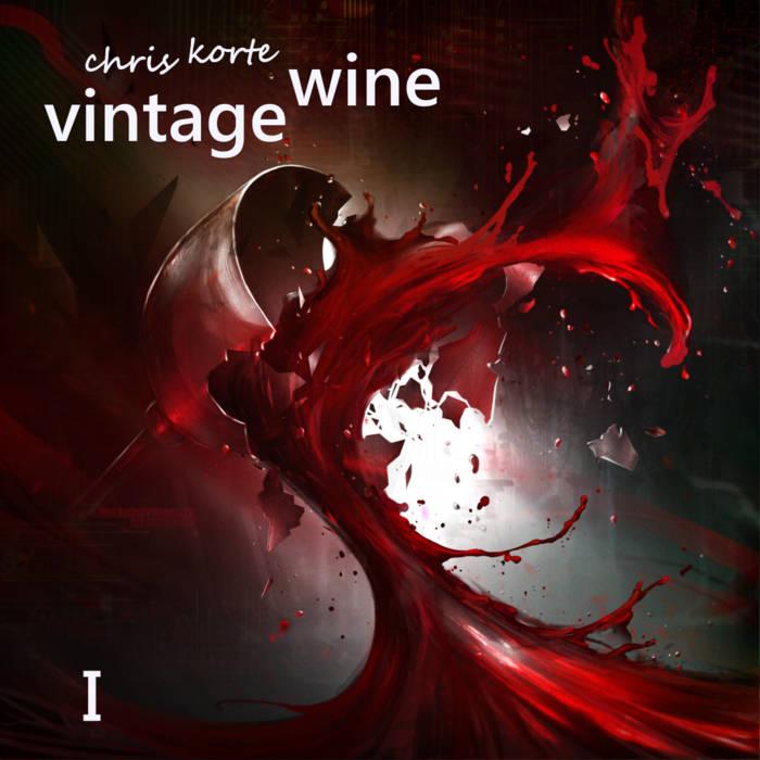 vintage wine I cover art