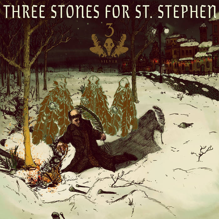 Three Stones For St. Stephen (Christmas 2016) cover art