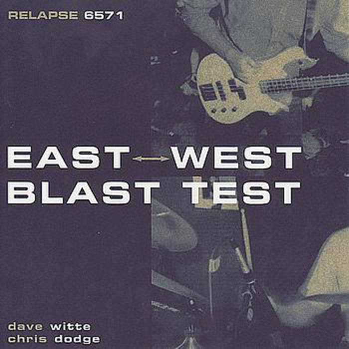 East West Blast Test cover art
