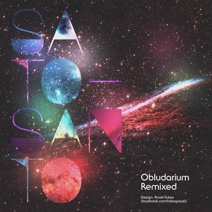 """""""Obludarium Remixed"""" LP cover art"""