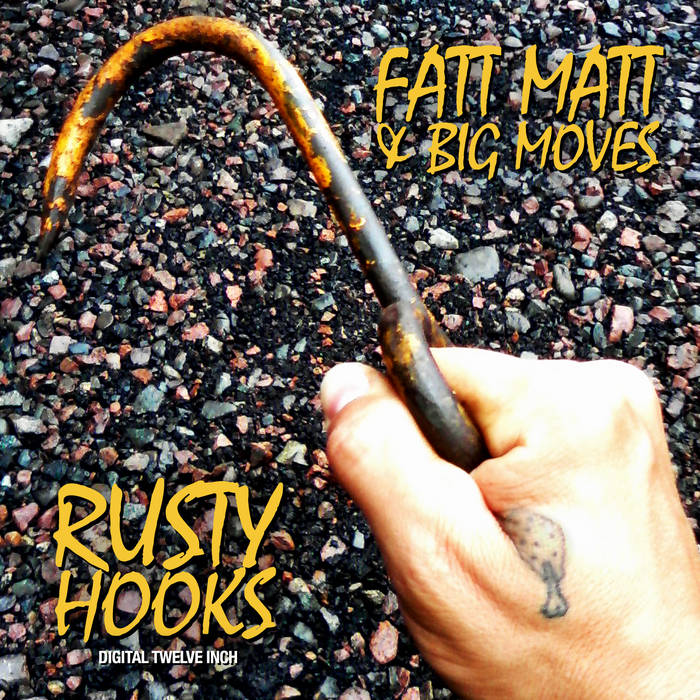 "Rusty Hooks - Digital 12"" cover art"