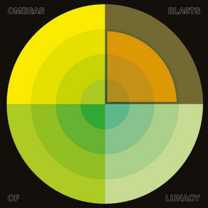 """Omegas - Blasts Of Lunacy 12"""" cover art"""