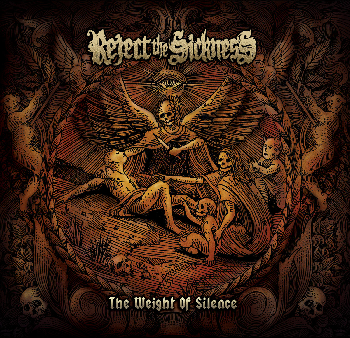「REJECT THE SICKNESS / THE WEIGHT OF SILENCE」の画像検索結果