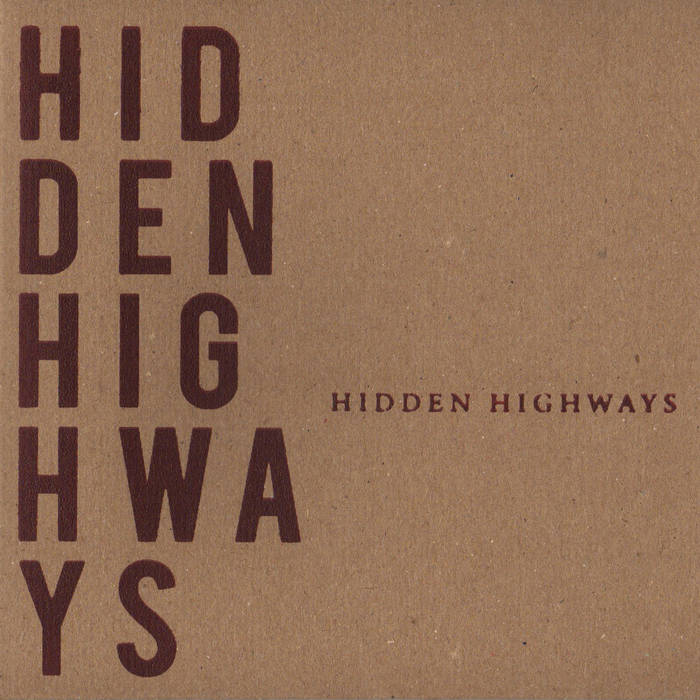 Hidden Highways EP cover art