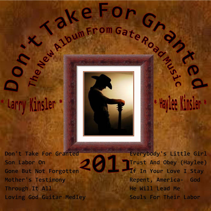 Don't Take For Granted cover art