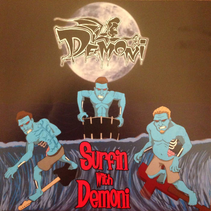 Surfin with Demoni cover art