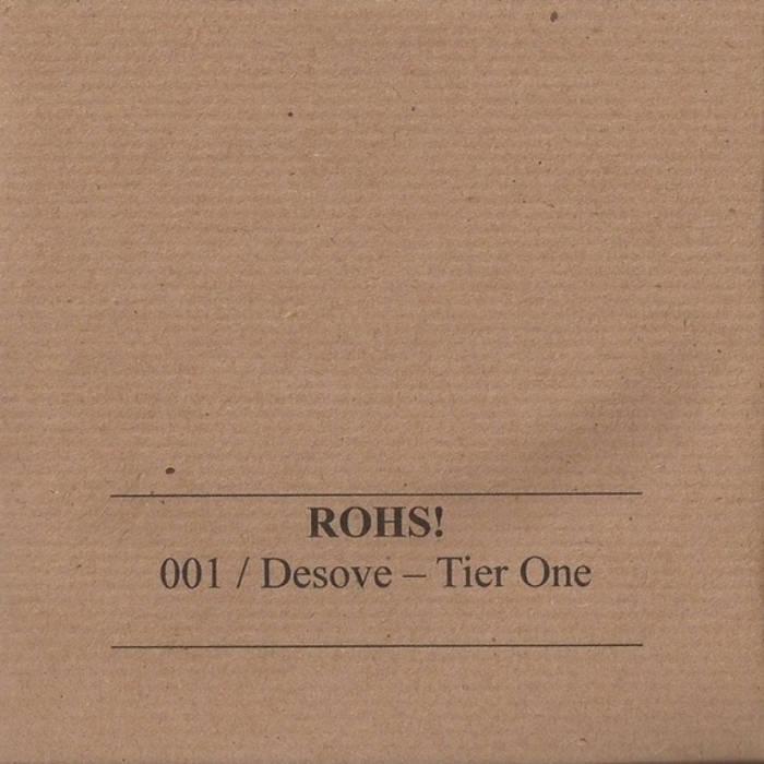 ROHS!001 CD/ Desove - Tier One cover art