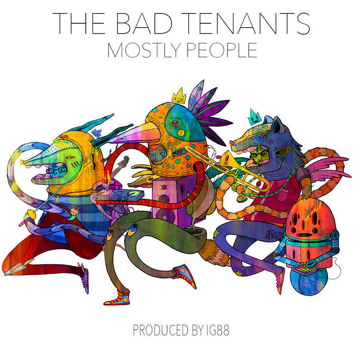 Mostly People cover art
