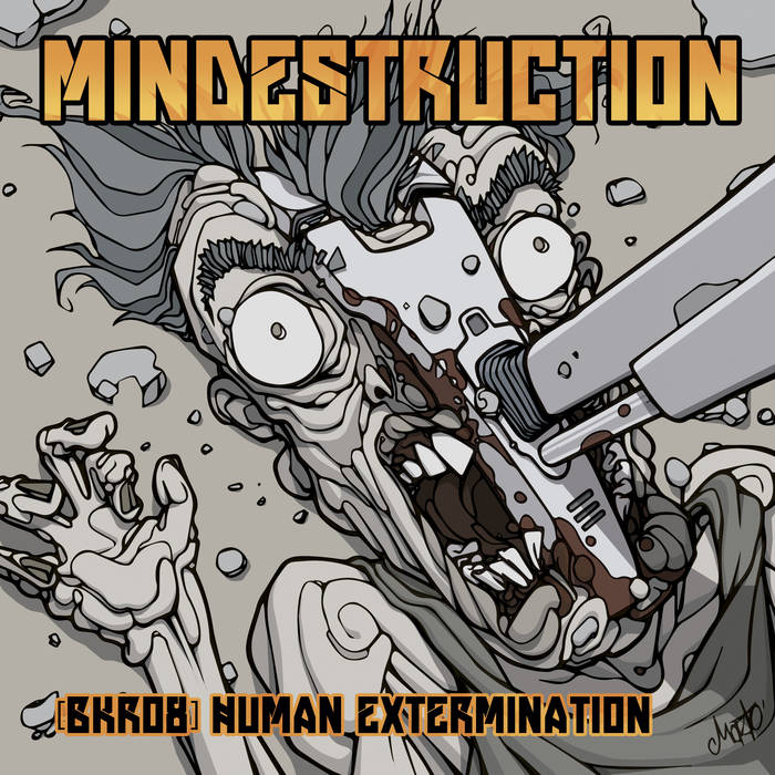 BKR08 - Mindestruction - Human Extermination cover art