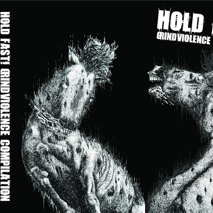 HOLD FAST! GRINDVIOLENCE COMPILATION cover art