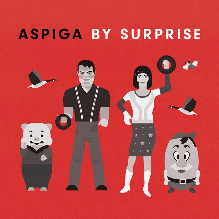 Aspiga/By Surprise cover art