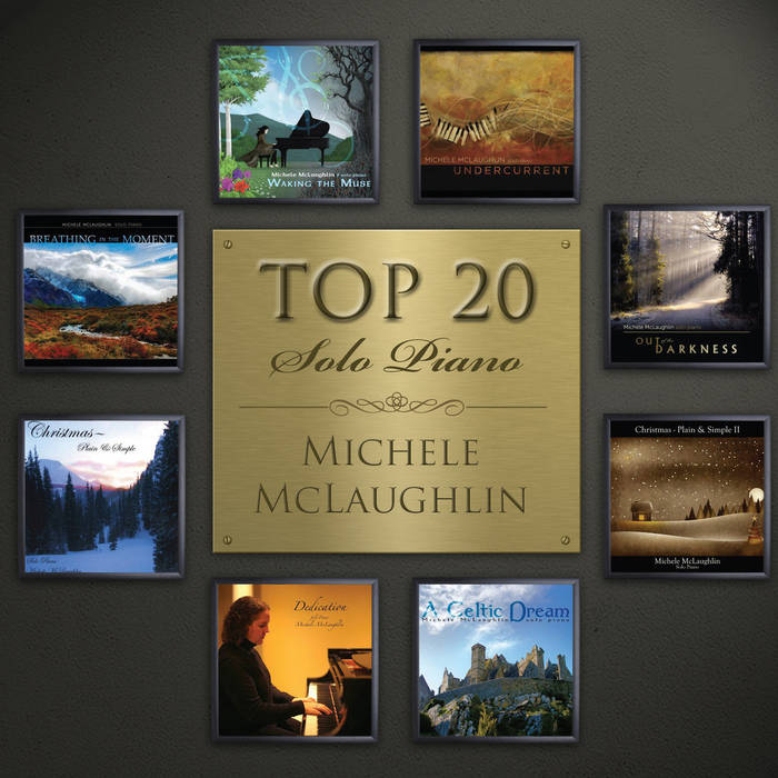 Top 20 - Solo Piano cover art