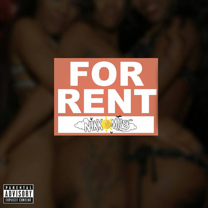"""For Rent"" non-mastered (Prod. LAKIM x Sir CRKS) cover art"
