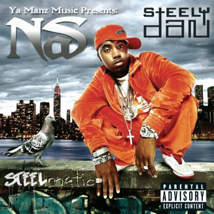 Nas & Steely Dan: Steelmatic cover art