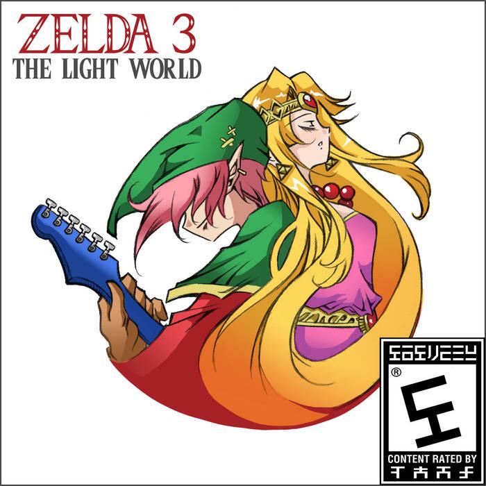 Zelda 3: The Light World cover art
