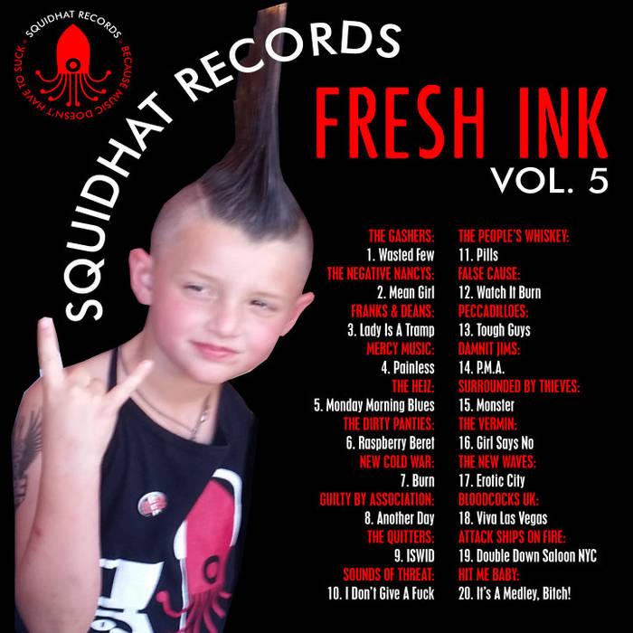 Fresh Ink Volume 5 cover art