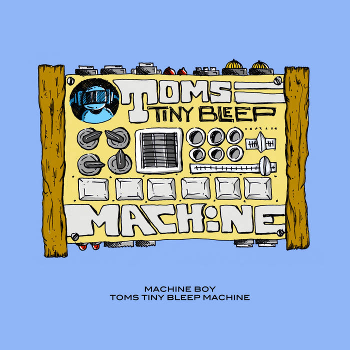 Toms Tiny Bleep Machine cover art