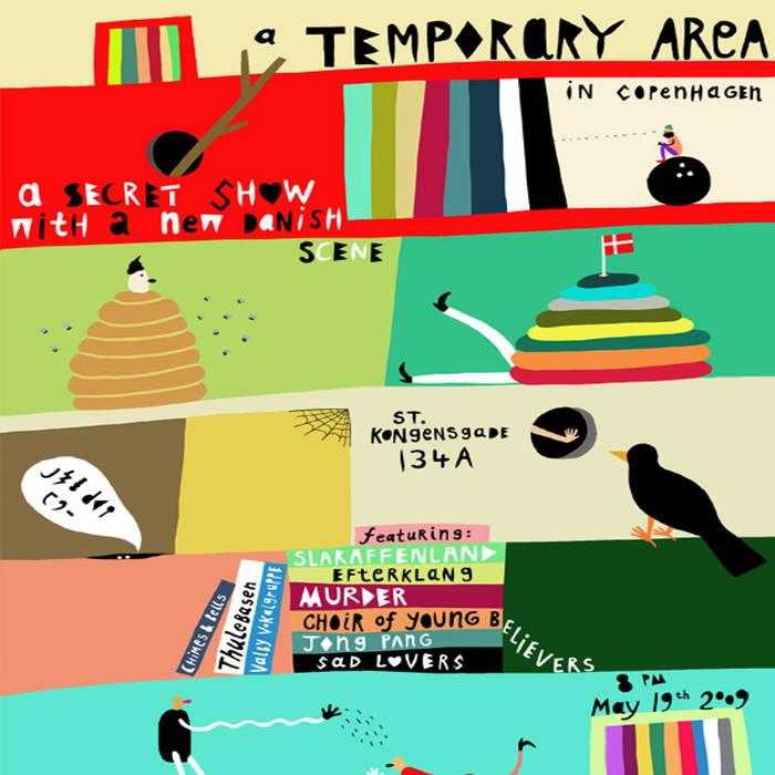TEMPORARY COPENHAGEN cover art