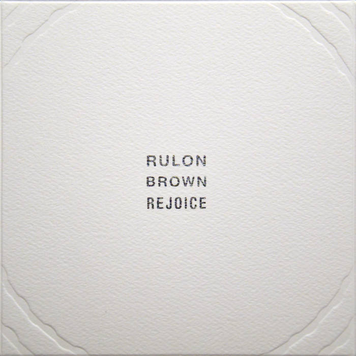 Rejoice cover art