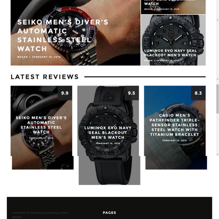 Ultimate Buying Guide to Mens Watches cover art