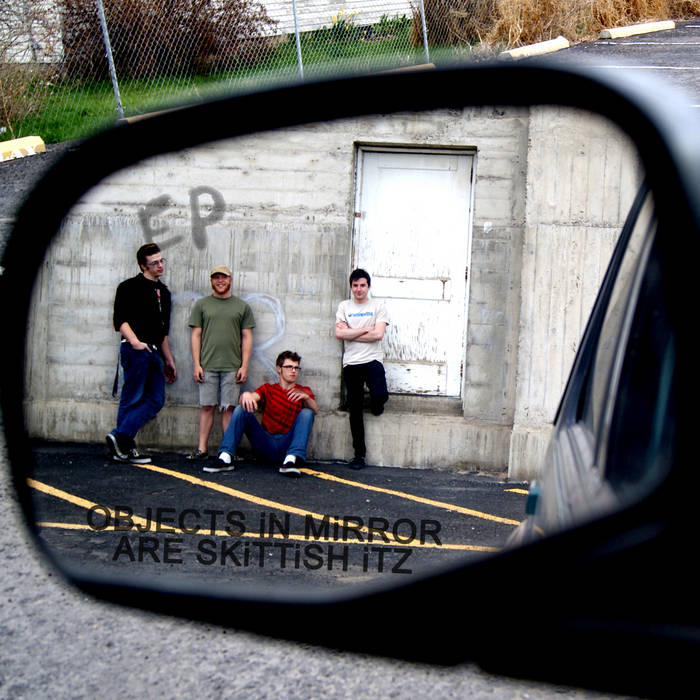 OBJECTS iN MiRROR ARE SKiTTiSH iTZ cover art