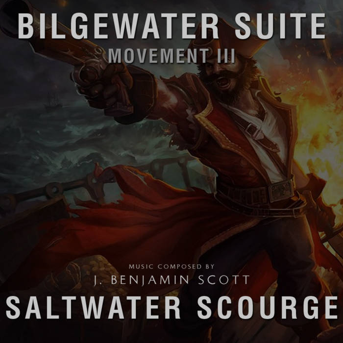 Saltwater Scourge cover art