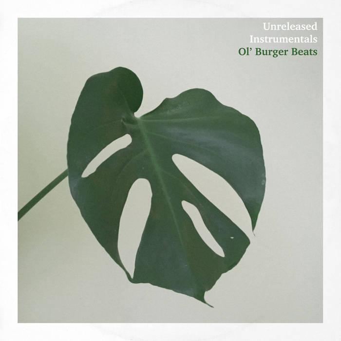 Unreleased Instrumentals EP cover art