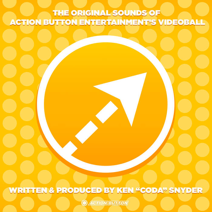 The Original Sounds of Action Button Entertainment's VIDEOBALL cover art